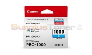 CANON PFI-1000 C INK TANK CYAN (0547C002[AA])