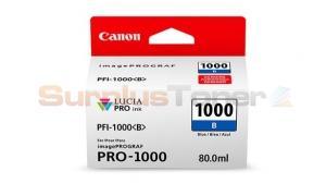 CANON PFI-1000 B INK TANK BLUE (0555C002[AA])
