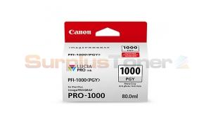CANON PFI-1000 PGY INK TANK PHOTO GRAY (0553C002[AA])