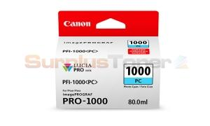 CANON PFI-1000 PC INK TANK PHOTO CYAN (0550C002[AA])