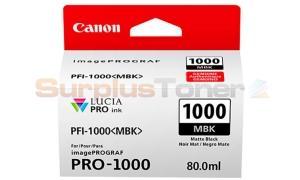 CANON PFI-1000 MBK INK TANK MATTE BLACK (0545C001[AA])