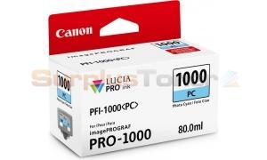CANON PFI-1000 PC INK TANK PHOTO CYAN (0550C001[AA])