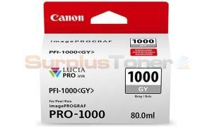 CANON PFI-1000 GY INK TANK GRAY (0552C001[AA])