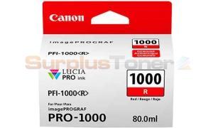 CANON PFI-1000 R INK TANK RED (0554C001[AA])