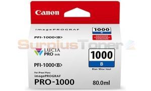 CANON PFI-1000 B INK TANK BLUE (0555C001[AA])