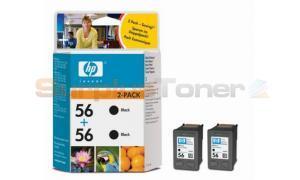 HP NO 56 INK BLACK TWIN PACK (C9502AE)