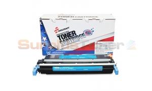 HP NO 645A CLJ-5500 TONER CARTRIDGE CYAN SKILCRAFT (SKL-C9731A)