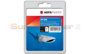 HP NO 338 INK CARTRIDGE BLACK AGFAPHOTO (APHP338B)