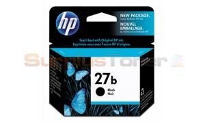 HP NO 27B INK CARTRIDGE SIMPLE BLACK (C8727B)