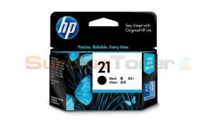 HP NO 21 INKJET PRINT CARTRIDGE BLACK (C9351AA)