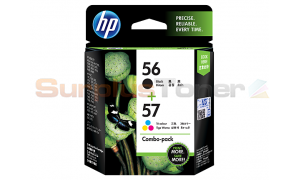 HP NO 56 57 INK CARTRIDGE CMYK COMBO PACK (CC629AA)