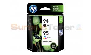 HP 94/95 INK CARTRIDGE BLACK/TRI-COLOR COMBO PACK (SA307AA)