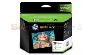 HP 28 INK CARTRIDGE PHOTO PACK GLOSSY (Q8893AA)