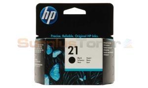 HP NO 21 INKJET PRINT CARTRIDGE BLACK (C9351AE#ABD)
