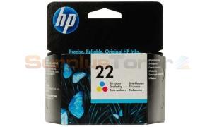 HP NO 22 INK CARTRIDGE TRI-COLOR (C9352AE#ABD)