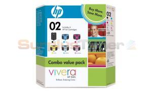 HP NO 02 INK CART COMBO PACK (CB309BN)