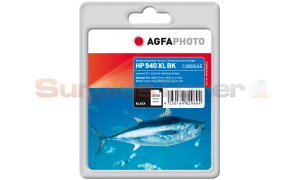 HP 940XL OFFICEJET INK CARTRIDGE BLACK AGFAPHOTO (APHP940BXL)
