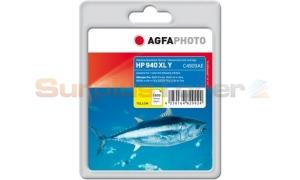HP 940XL OFFICEJET INK CARTRIDGE YELLOW AGFAPHOTO (APHP940YXL)