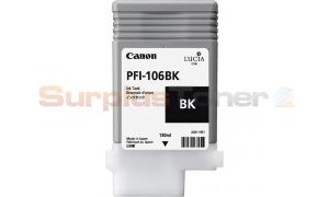 CANON PFI-106BK INK BLACK 130ML (NO BOX) (PFI-106BK)