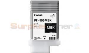 CANON PFI-106MBK INK MATTE BLACK 130ML (NO BOX) (PFI-106MBK)
