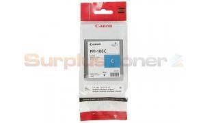 CANON PFI-106C IMAGEPROGRAF IPF6300 INK CYAN 130ML (6622B001)