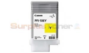 CANON PFI-106Y INK YELLOW 130ML (NO BOX) (PFI-106Y)