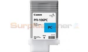 CANON PFI-106PC INK PHOTO CYAN 130ML (NO BOX) (PFI-106PC)