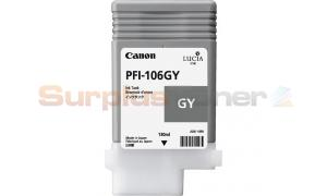 CANON PFI-106GY INK GRAY 130ML (NO BOX) (PFI-106GY)