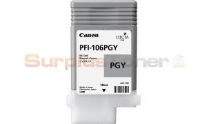 CANON PFI-106PGY INK PHOTO GRAY 130ML (NO BOX) (PFI-106PGY)