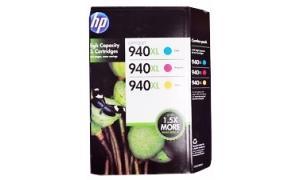 HP 940XL INK CARTRIDGE CMY PACK (CN698AE)