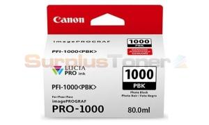 CANON PFI-1000 PBK INK TANK PHOTO BLACK (0546C003[AA])