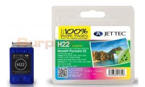 HP NO 22 INK CARTRIDGE TRI-COLOR JET TEC (101H002213)