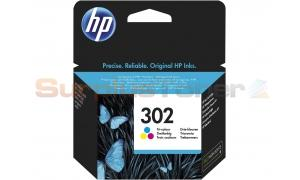 HP 302 INK CARTRIDGE TRI-COLOR (F6U65AE#ABE)