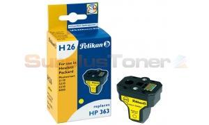 HP NO 363 INK CARTRIDGE YELLOW PELIKAN (354853)