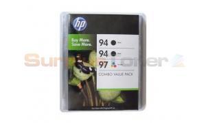 HP NO 94 94 97 INKJET PRINT CTG CMYK COMBO PACK (C9347BC)