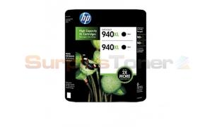 HP 940XL INK BLACK TWIN PACK (CH633BC)