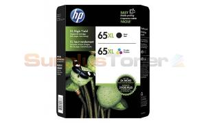 HP 65XL INK CTG BLACK/COLOR (T0A37BN)