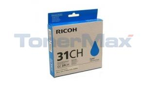 RICOH GX E5550N INK CARTRIDGE CYAN 4.39K (40-5702)