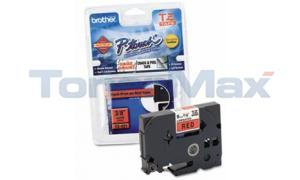 BROTHER P-TOUCH BLACK ON RED 9MM (TZ-421)