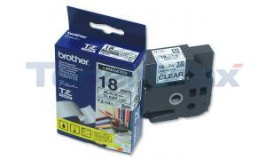 BROTHER P-TOUCH TAPE BLACK ON CLEAR (3/4 X 26) (TZ-141)