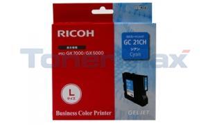 RICOH GX 5050N GC21CH PRINT CART CYAN 2.3K (405537)