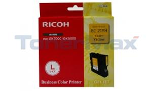 RICOH GX 5050N GC21YH PRINT CART YELLOW 2.3K (405539)