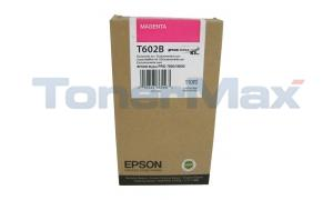 EPSON SP 7800 9800 K3 INK CTG MAGENTA 110ML (T602B00)