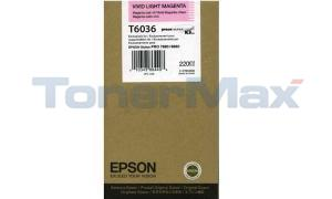 EPSON STYLUS PRO 7880 9880 INK CART VIVID LIGHT MAGENTA 220ML (T603600)