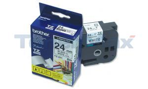 BROTHER P-TOUCH TAPE BLACK/WHITE (1 X 26) (TZ-251)