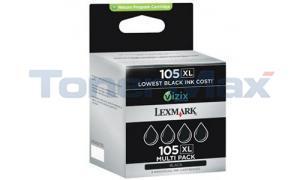 LEXMARK PLATINUM PRO905 105XL RP INK BLACK HY (14N0843)