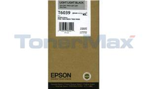 EPSON SP 7800 9800 K3 INK CTG LIGHT LIGHT BK 220ML (T603900)