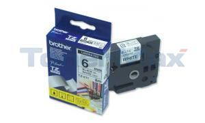 BROTHER P-TOUCH TAPE BLACK/WHITE (1/4 X 26) (TZ-211)