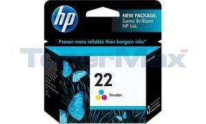 HP NO 22 INK TRI-COLOR (C9352AN)