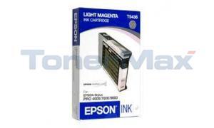 EPSON STYLUS PRO 4000 7600 9600 INK CART LIGHT MAGENTA 110ML (T543600)
